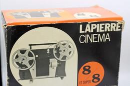 715 - Projecteur Lapierre Cinéma 600LS - 8 Mm/super 8 - Avec Sa Boite - Film Projectors