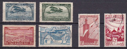 CF-MA-45 – FRENCH COLONIES – MOROCCO – AIRMAIL – 1922-47 – USED LOT - Luftpost