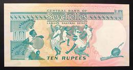 SEYCHELLES 10 RUPEES ND 1989 Pick# 32 Q.FDS UNC-  LOTTO 3404 - Seychelles
