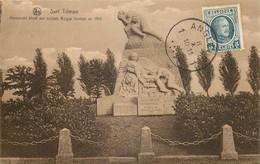Liège - Sart-Tilman - Monument élevé Aux Soldats Belges Tombés En 1914 - Liege