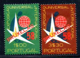 N° 843,4 - 1958 - Used Stamps