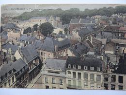 MAUBEUGE VUE PANORAMIQUE OUEST CARTE COLORISEE - Maubeuge