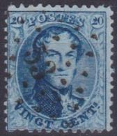 Belgie  .  OBP  .  15A    .   Obl.  LP53  Braine Le Comte       .   O   .   Gebruikt   .   / .   Oblitéré - 1863-1864 Medallions (13/16)