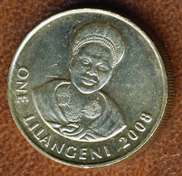 Eswatini-Swaziland 1 Lilangeni 2008, KM#45, AUnc - Swaziland