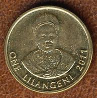 Eswatini-Swaziland 1 Lilangeni 2011, KM#60, AUnc - Swaziland
