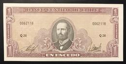 Cile Chile 1 Escudo 1964 UNC  Fds LOTTO 3408 - Chile
