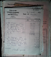 G 19  Facture/document Entete épicerie A Pont L'abbé - Alimentos