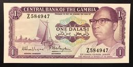 "GAMBIA 1 Dalasi ""President Jawara"" Unc FDS LOTTO.3410 - Gambia"