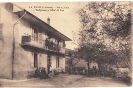 CPA  LA THUILE   Hôtel Du Lac - Other Municipalities