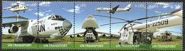 2010 UNO Wien Mi.  678-82 **MNH  Transportmittel Der Vereinten Nationen - Nuevos