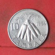 MALAWI 10 TAMBALA 1989 -    KM# 10,2 - (Nº41652) - Malawi