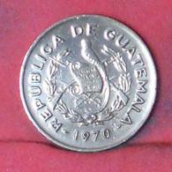 GUATEMALA 1 CENTAVO 1970 -    KM# 265 - (Nº41657) - Guatemala