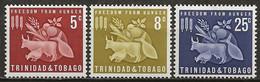 TRINITE Et TOBAGO: **, N° YT 197 à 199, Série, TB - Trinidad Y Tobago (1962-...)