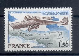 France 1978 - Y & T N. 51 Poste Aérienne - Première Liaison Postale Entre Villacoublay Et Pauillac (Michel N. 2123) - 1960-.... Nuovi