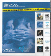 2010 UNO Wien Mi. 634-8**MNH  Grußmarken   Kampagne Gegen Menschenhandel. - Nuevos