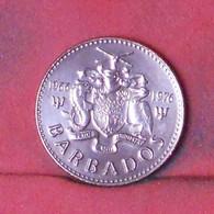 BARBADOS 1 CENT 1976 -    KM# 19 - (Nº41669) - Barbados