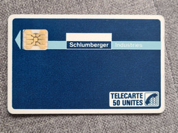 D24 - SCHLUMBERGER INDUSTRIES - COTE 60E - Phonecards: Private Use