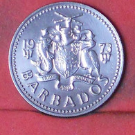 BARBADOS 25 CENTS 1973 -    KM# 13 - (Nº41673) - Barbados