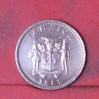 JAMAICA 1 CENT 1969 -    KM# 45 - (Nº41675) - Jamaica