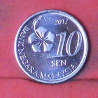 MALAYSIA 10 SEM 2017 -    KM# 202 - (Nº41686) - Malaysia