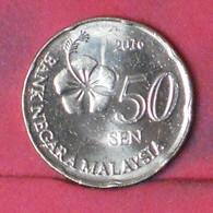 MALAYSIA 50 SEM 2016 -    KM# 204 - (Nº41687) - Malaysia