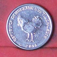 TIMOR 10 CENTAVOS 2011 -    KM# 3 - (Nº41689) - Timor