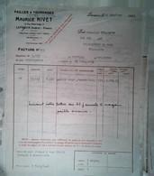 G 19  Facture/document Entete Pailles Fourrages à Levroux - Agricoltura
