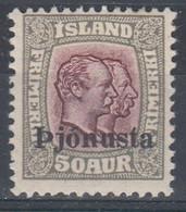 ++M1417. Iceland 1936. Official Stamp. Michel 65. MH(*) - Dienstpost