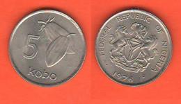 Nigeria 5 Kobo 1976 British Territory - Nigeria