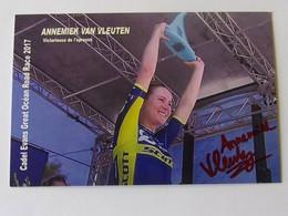Annemiek VAN VLEUTEN - Signé De - Dédicace - Hand Signed - Autographe Authentique - Cycling