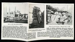 ► NEUVES-MAISONS OUGREE ALLEVARD -   Les Fourneaux   - Début XXe Coupure De Presse (Encadré Photo) - Documentos Históricos