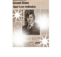 Kranten Knipsel - Artikel, Zeebrugge, Heist, Knokke , Visserij, Michel Janssens  †06-02-1991. Stuurman. - Hunting & Fishing
