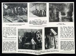 ► NEUVES-MAISONS HOMECOURT - ACIERIE  Les Laminoirs - Début XXe Coupure De Presse (Encadré Photo) - Documentos Históricos