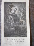 Feuillet St Paul De La Croix, Fondateur Des Passionistes - Andere