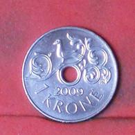 NORWAY 1 KRONE 2009 -    KM# 462 - (Nº41692) - Norway