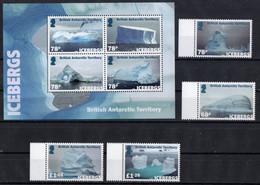 British Antarctic Territory (BAT) 2019.   Icebergs.  MNH - Nuovi