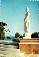 CPM AK Oranjestad. Statue Of H.M. Queen Wilhelmina. ARUBA (629997) - Aruba