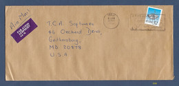 Cover Mailed From Trá Lt, Ireland, In 1993 With Michel #754I [#5550] - Airmail