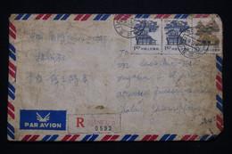 CHINE - Enveloppe En Recommandé De Xiamen Pour La France En 1987 - L 94097 - Storia Postale