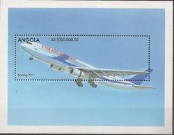 ANGOLA 1998 Aeroplanes MNH - Angola