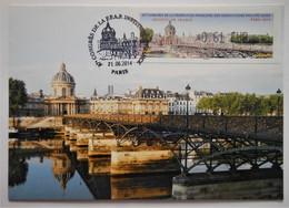 Carte Maximum PARIS Institut De France  87e Congres De La FFAP - Non Classificati