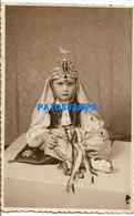157073 ARGENTINA COSTUMES CARNIVAL DISGUISE ARAB PHOTO NO POSTAL POSTCARD - Argentinië