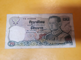 THAILANDE 20 BAHT - Thailand