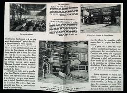 ► NEUVES MAISONS  Meurthe-et-Moselle - Train D' Usine    - ACIERIE  Début XXe -   Coupure  De Presse (Encadré Photo) - Documentos Históricos