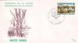 Belgie FDC YT° 1408-1409 - 1961-70