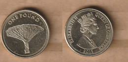 GIBRALTAR  1 Pound  (Dragon Tree) 2015  Nickel Brass • 9.5 G • ⌀ 22.5 Mm - Gibraltar