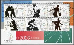 Soccer Football 2009 Hong Kong Bl 207 MNH ** - Nuovi