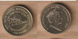 GIBRALTAR  1 Pound  (New Calpe House) 2018  Nickel Brass • 9.5 G • ⌀ 22.5 Mm - Gibraltar