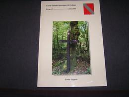 CERCLE D' ETUDES HISTORIQUES DE GEDINNE 13 Régionalisme Rienne Moulin Scierie Vencimont Guerre 40 45 Ardenne Graide - Bélgica