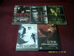 PROMO  5 DVD ° POUR 10 EUROS °  LOT 255 - Collections & Sets